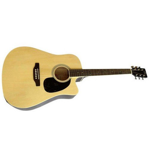 Pluto HW41CE 101SP Cutaway Semi Acoustic Guitar