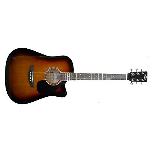 Pluto HW41C 201 Acoustic Guitar – Sunburst